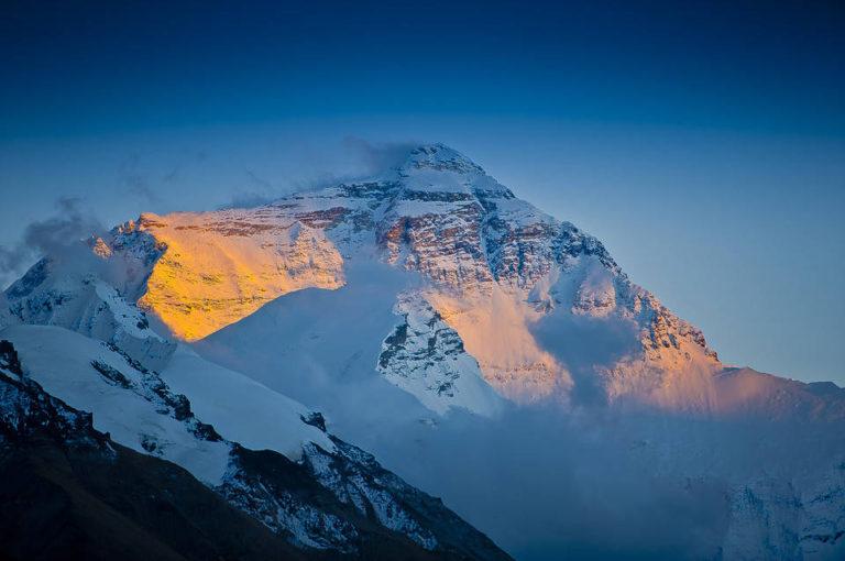 Sunrise at Mt. Everest