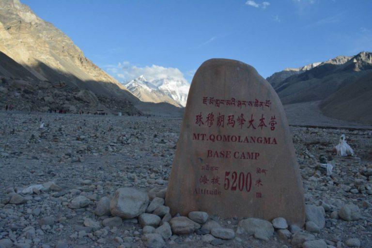 Everest Base Camp Stone