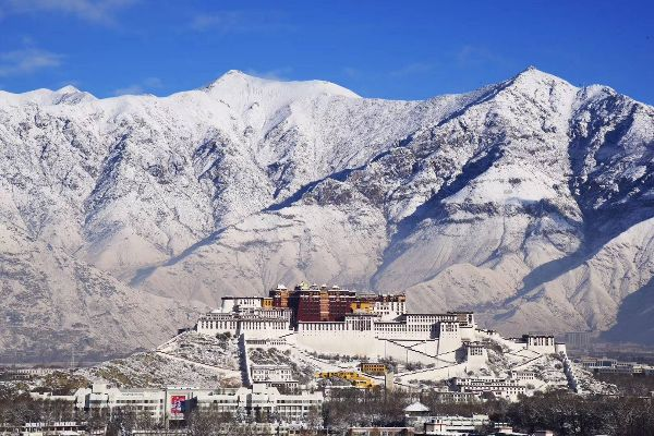 Lhasa in Winter