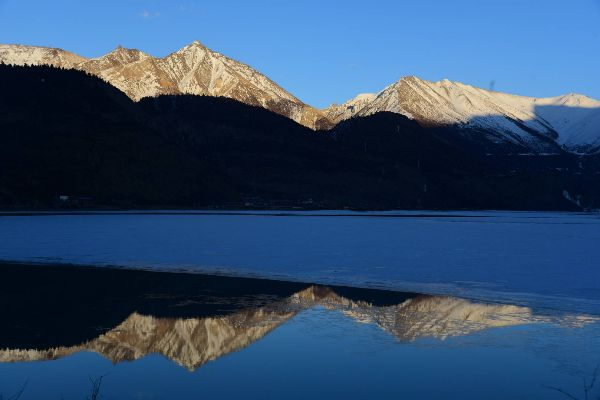 Ranwu Lake in Tibet