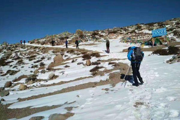 Trekking in Tibet