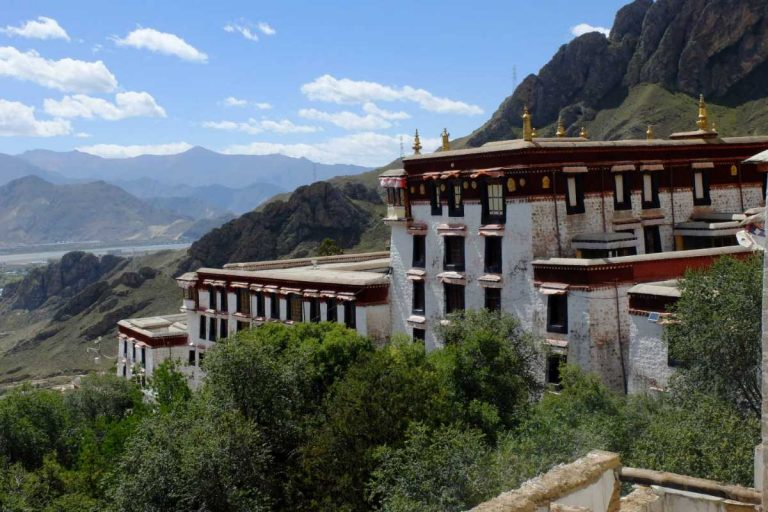The view from Drepung Monastery