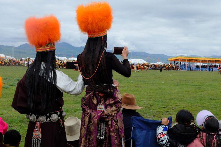 Tibetan Nagchu Horse Racing Festival