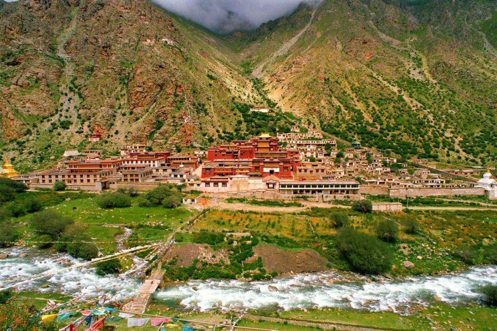 Tsurphu Monastery in Tibet