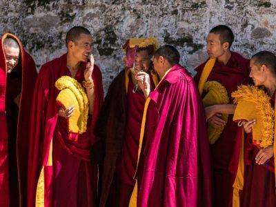 Tibetan Monks