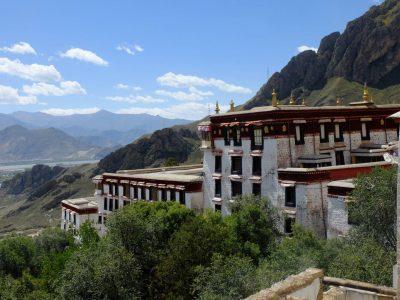 Drepung Temple in Tibet