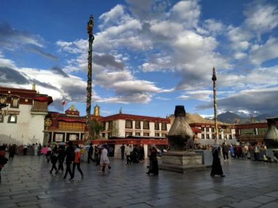Jokhang outside
