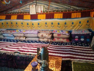 EBC tent inside