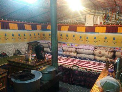 Tent in Tibet